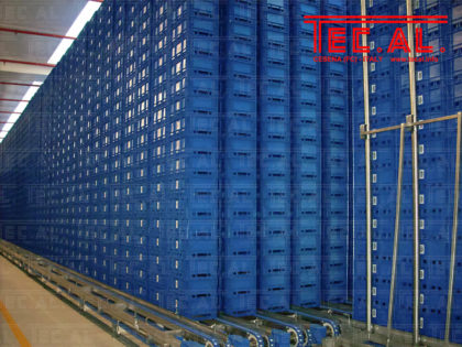 EMPTY CRATES AUTOMATED WAREHOUSES