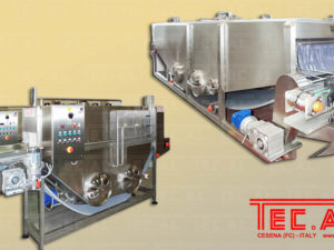 TUNNEL PASTEURIZER – COOLER FOR GLASS JARS AND BOTTLES