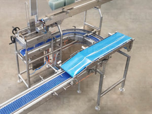 AUTOMATIC FILLER FOR MINCED MEAT